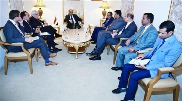 Vice President meets UN special envoy to Yemen