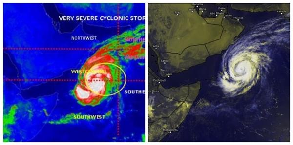 الحكومة تقول إنها وجهت بتشكيل غرف عمليات لمواجهة تداعيات إعصار