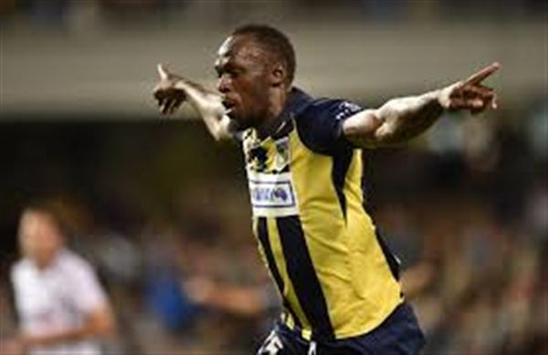 أول أهداف العدّاء الجامايكي بولت في عالم كرة القدم