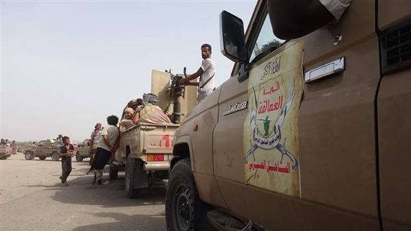 الجيش يؤمن عدداً من المزارع شرق الحديدة