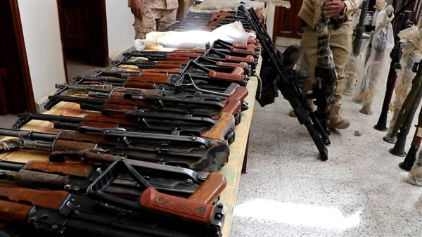 Weapon shipment seized while en route to Houthis