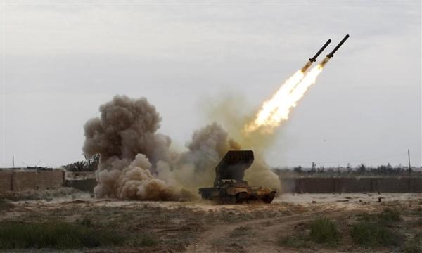 دفاعات التحالف تعترض صاروخاً باليستياً في سماء مأرب وترصد فشل إطلاق آخر بالحديدة