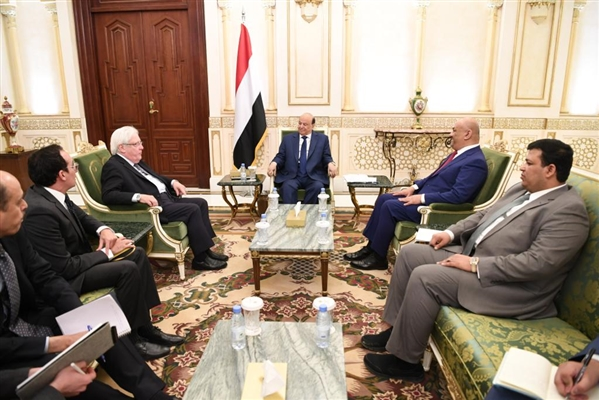 Hadi: Our concessions are responded with Houthi arrogance and intransigence