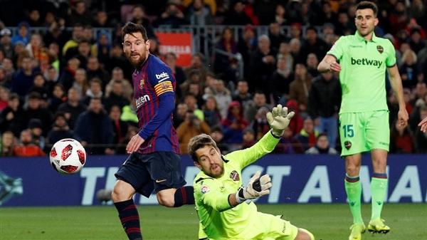 برشلونة يتجاوز ليفانتي بثلاثية ويتأهل لدور 8