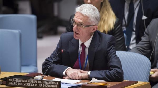 """الحكومة تنتقد إحاطة """"لوكوك"""" لمجلس الأمن وتقول إن التعميم والغموض أمر غير مقبول"""