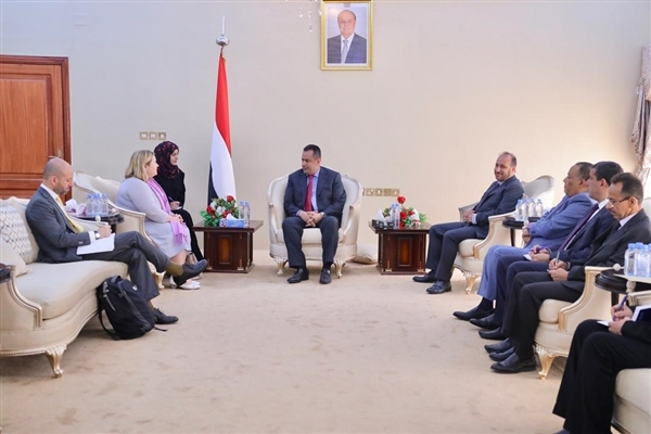 PM meets EU delegation to Yemen