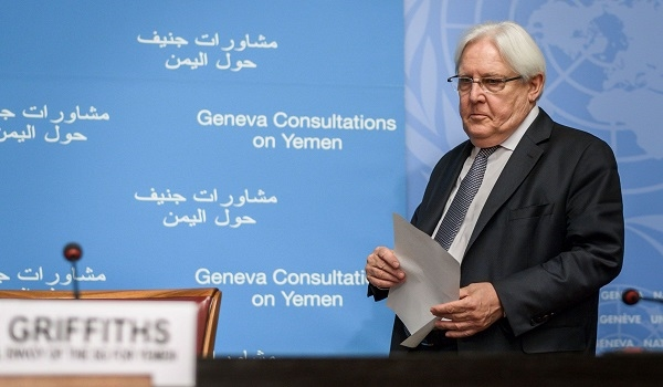Yemeni official: Griffiths seeks to legitimize the Houthis'  existence