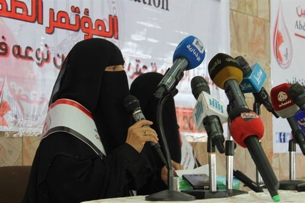 Chairwoman of Abductees' Mothers Association highlights detainees' misery in Houthis-run prisons