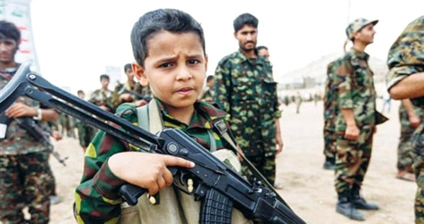 Government: Houthis send 200 child soldiers to Nehm front