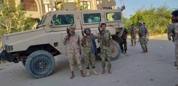 قوات الجيش تواصل تطهير مناطق شبوة من مليشيات الانتقالي المتمردة