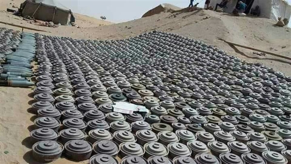 Over 1,600 landmines removed