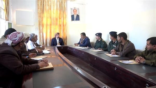 """العميد """"السياغي"""" يتسلم إدارة أمن محافظة صنعاء"""