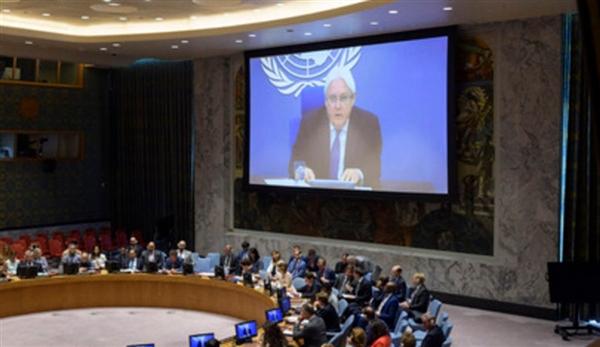 إحاطة مرتقبة للمبعوث الأممي يوم غد الخميس أمام مجلس الأمن حول اليمن