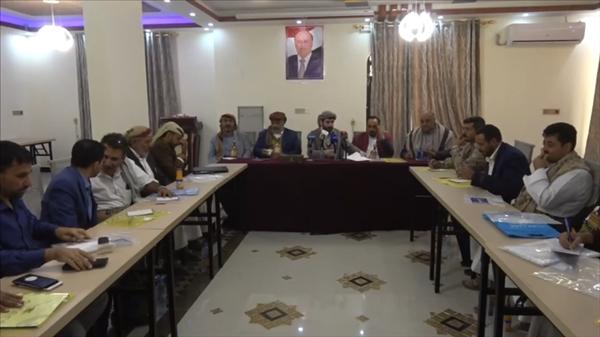السلطة المحلية بمحافظة صنعاء تشدد على ضرورة إسناد الجيش لاستكمال عملية التحرير