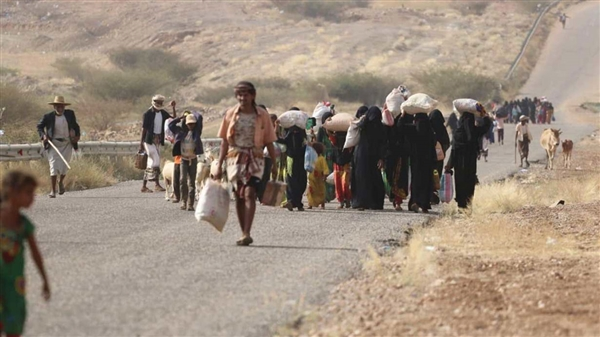 25,000 families displaced from Al-Jawf