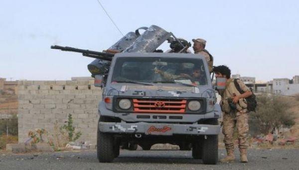 قتلى وجرحى في صفوف المليشيات بنيران الجيش الوطني غرب تعز