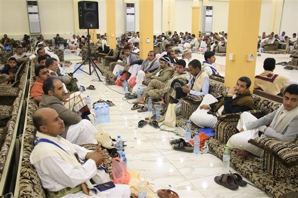 لقاء قبلي في حجة لإسناد الجيش الوطني في استكمال عملية التحرير