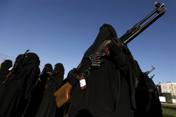 US activist: Houthis female security service is like Iran's