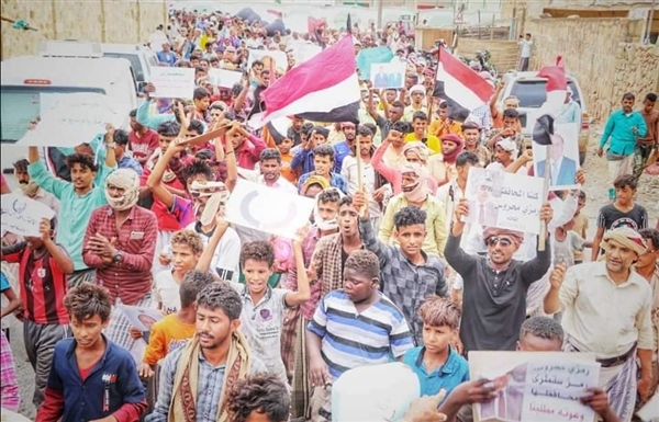 Thousands march in Socotra, demand implementation of Al-Riyadh agreement and disband of militias