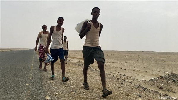 Gov't condemns Houthis recruitment of African refugees