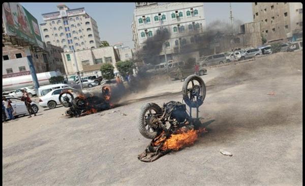 مقتل سائق دراجة برصاص مسلحي الانتقالي في عدن