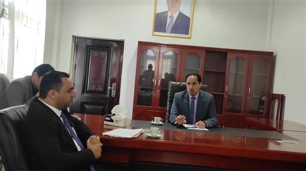 الوزير البكري يناقش نشاط قطاع الشباب والرياضة مع الوكيل منير لمع