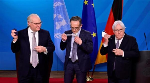 «اجتماع برلين» يحمل الحوثيين مسؤولية استمرار الصراع ويشيد بـالإرادة السعودية لإنهاء الحرب