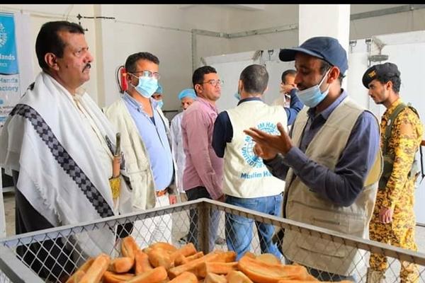 افتتاح مخبز خيري للأسر الأشد فقراً في مخيم السويداء بمارب
