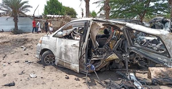 استشهاد وجرح 14 مدنياً بانفجار لغم حوثي في الدريهمي جنوبي الحديدة