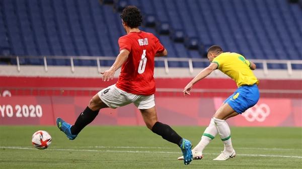 مصر تودع الأولمبياد بعد الخسارة أمام البرازيل