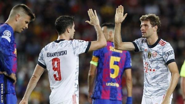 برشلونة يتعرض لهزيمة قاسية على ملعبه من بايرن ميونيخ في أول مباراة بدون ميسي